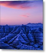 Before Sunrise, Badlands National Park Metal Print
