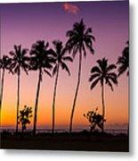 Before Sunrise In Kauai Metal Print