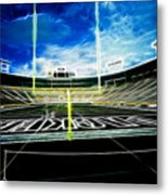 Before The Big Game Metal Print