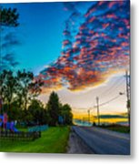 Before The Lunar Eclipse 2 Metal Print