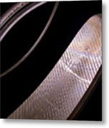 Before The Rubber Meets The Road Metal Print by Rona Black
