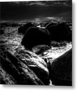 Before The Storm - Seascape Metal Print