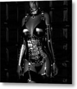 Beg For Mercy Bw Metal Print