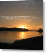 Beginning Light Metal Print