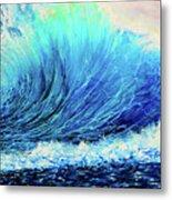 Behemoth Wave Metal Print