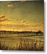 Behind Cherry Grove Pier  Metal Print