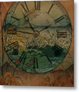 Behind Time Metal Print
