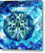 Behold The Jeweled Eye Metal Print
