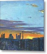 Bei Jing Sunset Metal Print