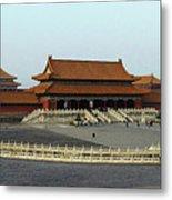 Beijing City 28 Metal Print
