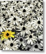 Being Different Metal Print