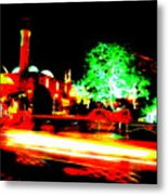 Beirut By Night Metal Print