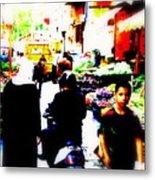 Beirut Market Funk Metal Print