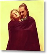 Bela Lugosi And Helen Chandler, Dracula Metal Print