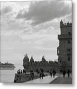 Belem And The Boat Metal Print