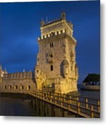 Belem Tower, Lisbon, Portugal Metal Print