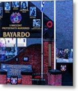 Belfast Mural - Bayardo - Ireland Metal Print