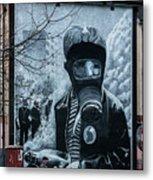 Belfast Mural - Face Mask - Ireland Metal Print