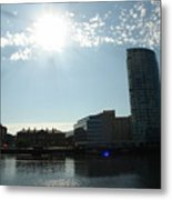 Belfast Waterfront Metal Print