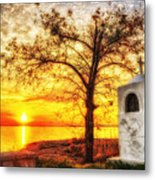 Believers Sunset Metal Print