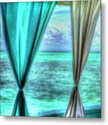 Belize Curtains #1 Metal Print