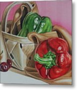 Bell And Basket Metal Print