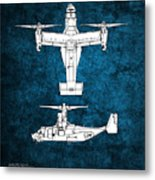 Bell Boeing V-22 Osprey Metal Print