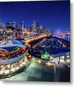 Bell Harbor Metal Print