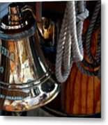 Bell On Schooner Virginia Metal Print