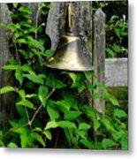 Bell On The Garden Gate  Metal Print