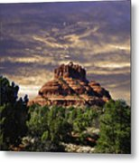Bell Rock In Hdr Metal Print
