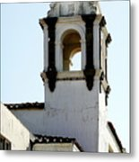 Bell Tower In Santa Cruz Metal Print