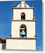 Bell Tower Mission San Buenaventura Metal Print