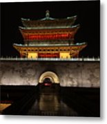 Bell Tower Of Xi'an Metal Print