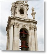 Bell Tower With Red   Metal Print