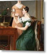 Bella And Hanna. The Eldest Daughters Of M.l. Nathanson Metal Print