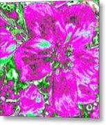 Bella Flora 2 Metal Print
