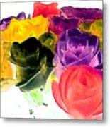Bella Flora 6 Metal Print
