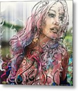 Bella Remixed II Metal Print