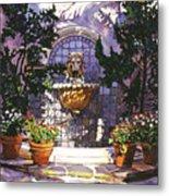 Bellagio Fountain Metal Print by David Lloyd Glover
