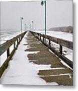 Belle Isle Bridge Metal Print
