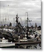 Bellingham Bay Ship Yard Metal Print