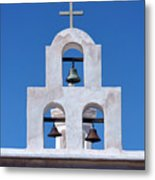 Bells - San Xavier Del Bac - Arizona Metal Print