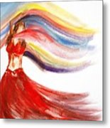 Belly Dancer 2 Metal Print