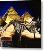 Bellydance Of The Pyramids - Rachel Brice Metal Print