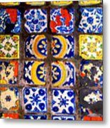 Belmar Tiles By Darian Day Metal Print
