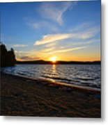Belmont Nh Beach Metal Print