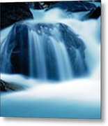Below Tak Falls Metal Print