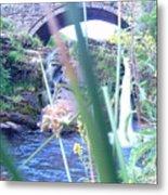 Below The Bridge Metal Print