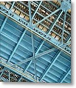 Below The Bridge Metal Print